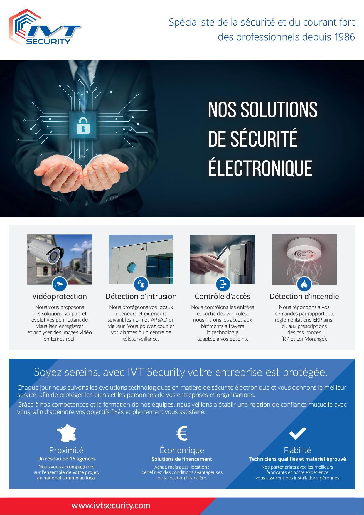 Solution - Securite Electronique